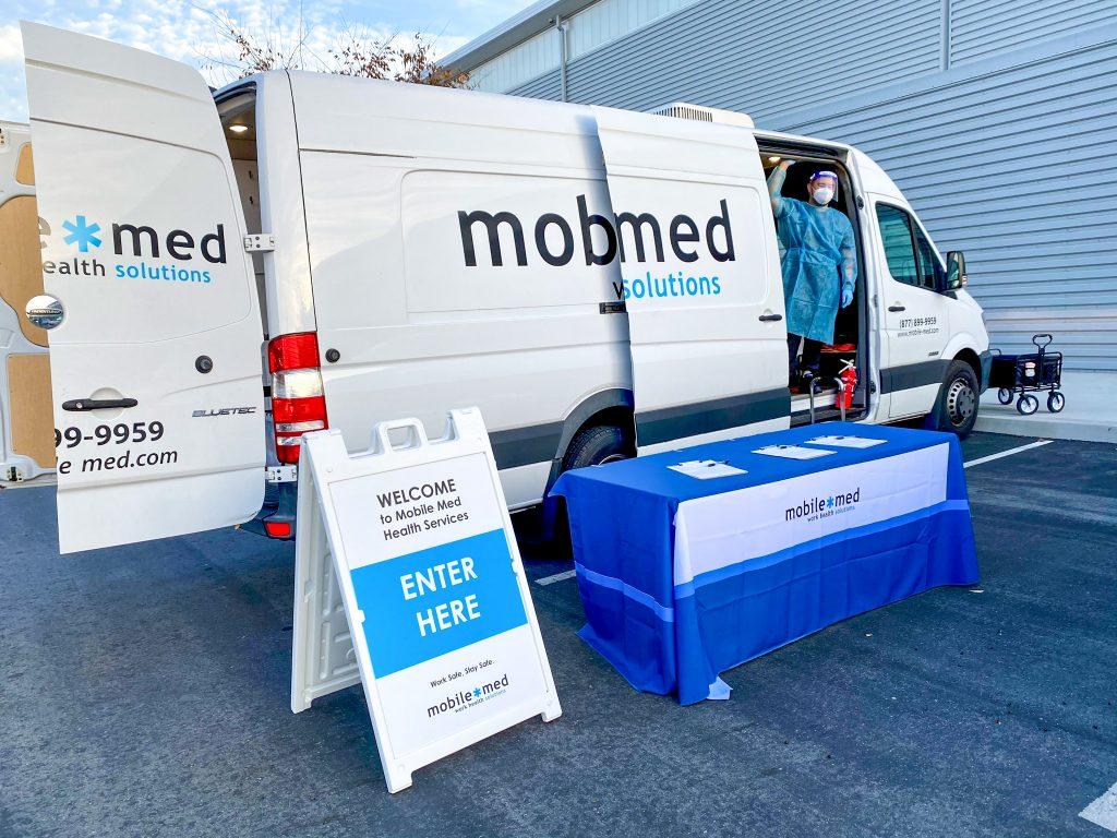 mobile-med work health solutions van